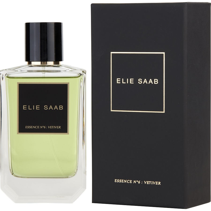 elie saab essence n°6: vetiver