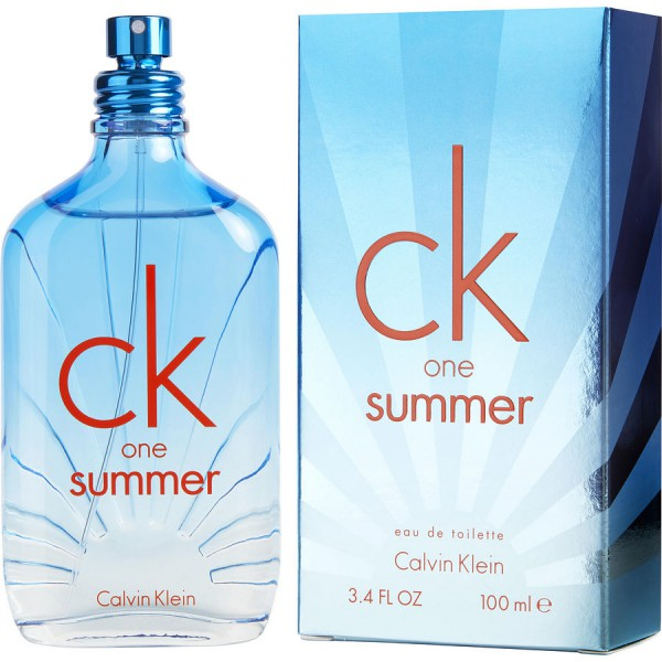 Ck One Summer Calvin Klein Eau de Toilette Spray 100ml - Sobelia bfc58599f0
