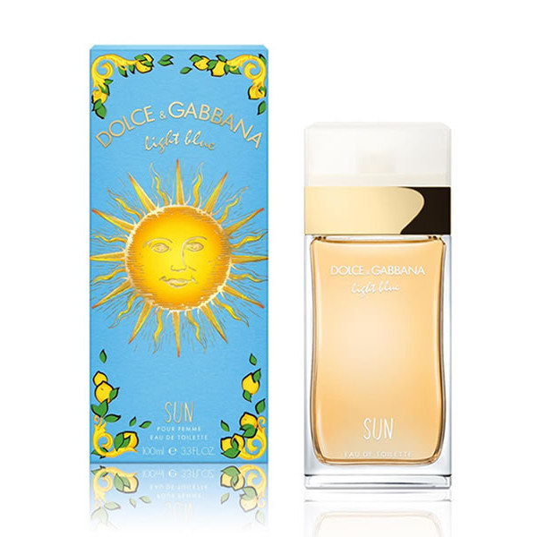 Light Blue Sun Pour Femme Dolce Gabbana Eau De Toilette Spray 100ml