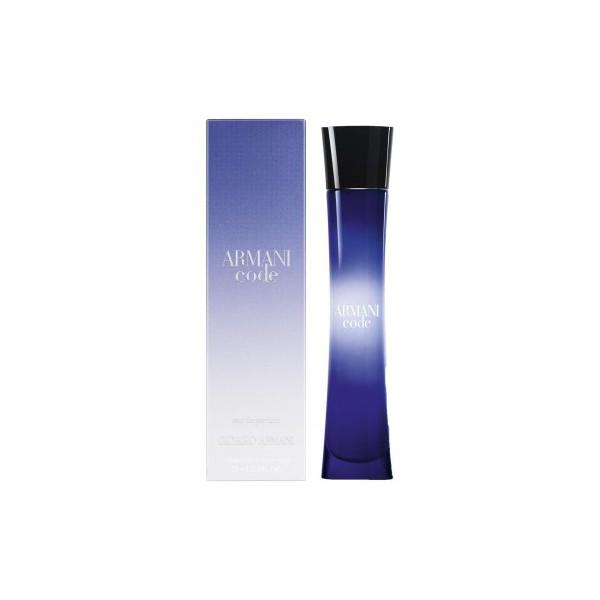 armani code femme giorgio armani eau de parfum 75 ml. Black Bedroom Furniture Sets. Home Design Ideas