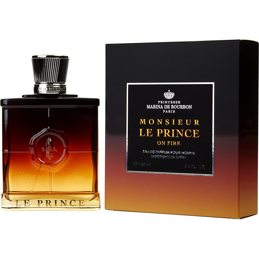 princesse marina de bourbon monsieur le prince on fire