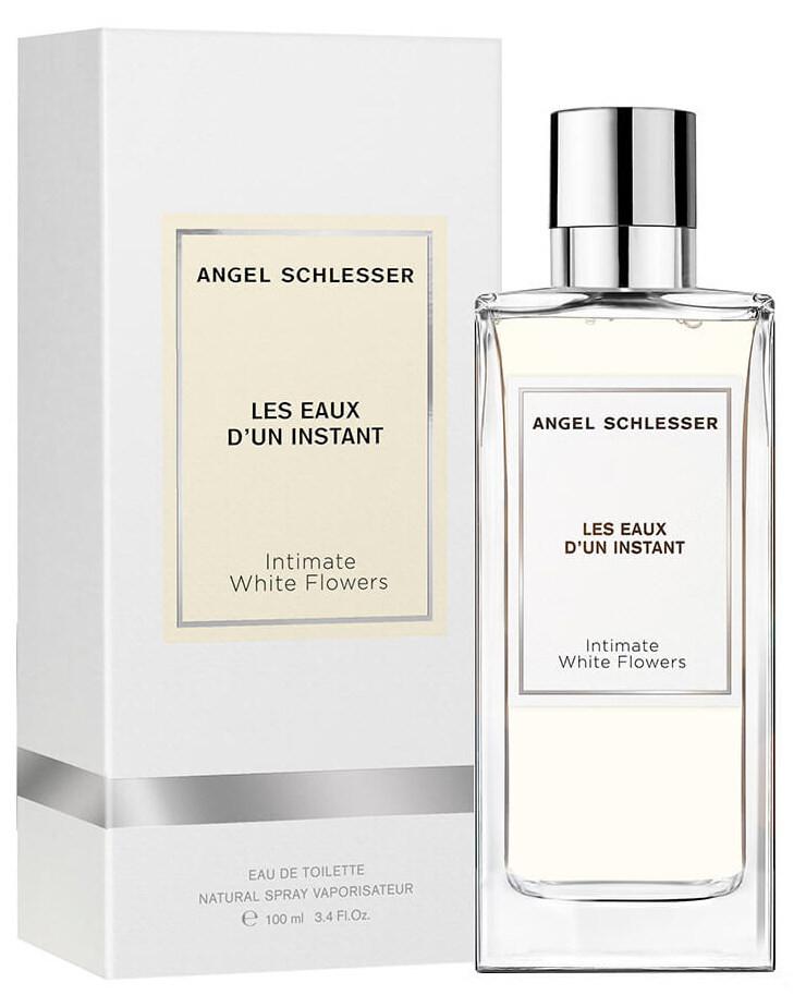 angel schlesser les eaux d'un instant - intimate white flowers