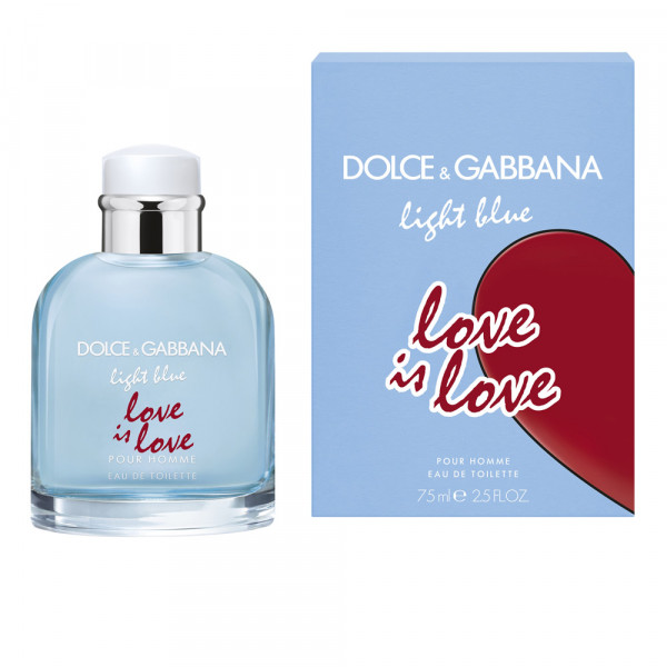 Light Blue Love Is Love Dolce & Gabbana