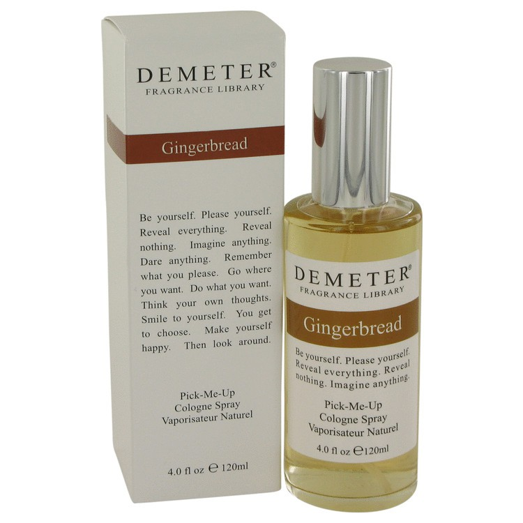 demeter fragrance library gingerbread