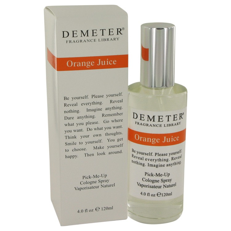 demeter fragrance library orange juice
