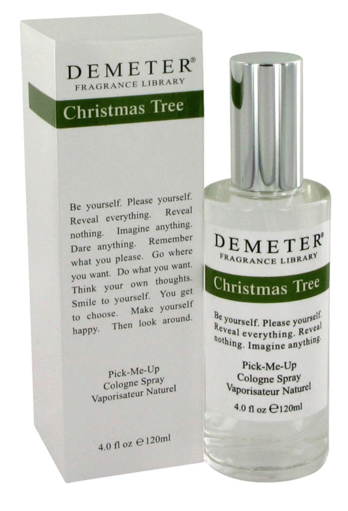 demeter fragrance library christmas tree