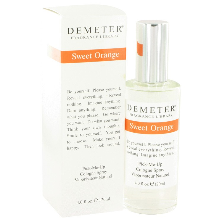 demeter fragrance library sweet orange