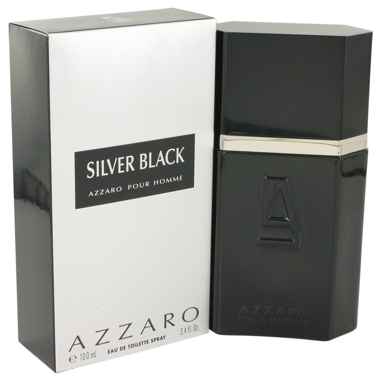 azzaro azzaro pour homme silver black