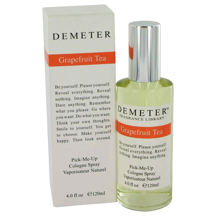 demeter fragrance library grapefruit tea