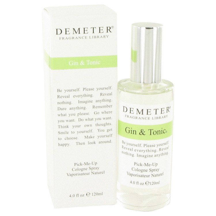 demeter fragrance library gin & tonic
