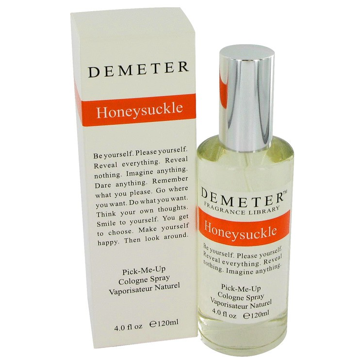 demeter fragrance library honeysuckle