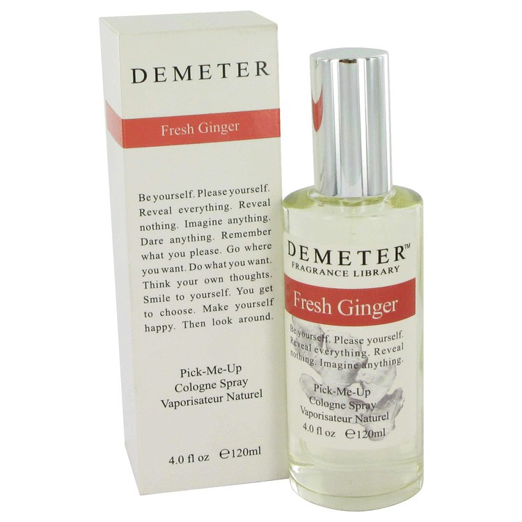 demeter fragrance library fresh ginger