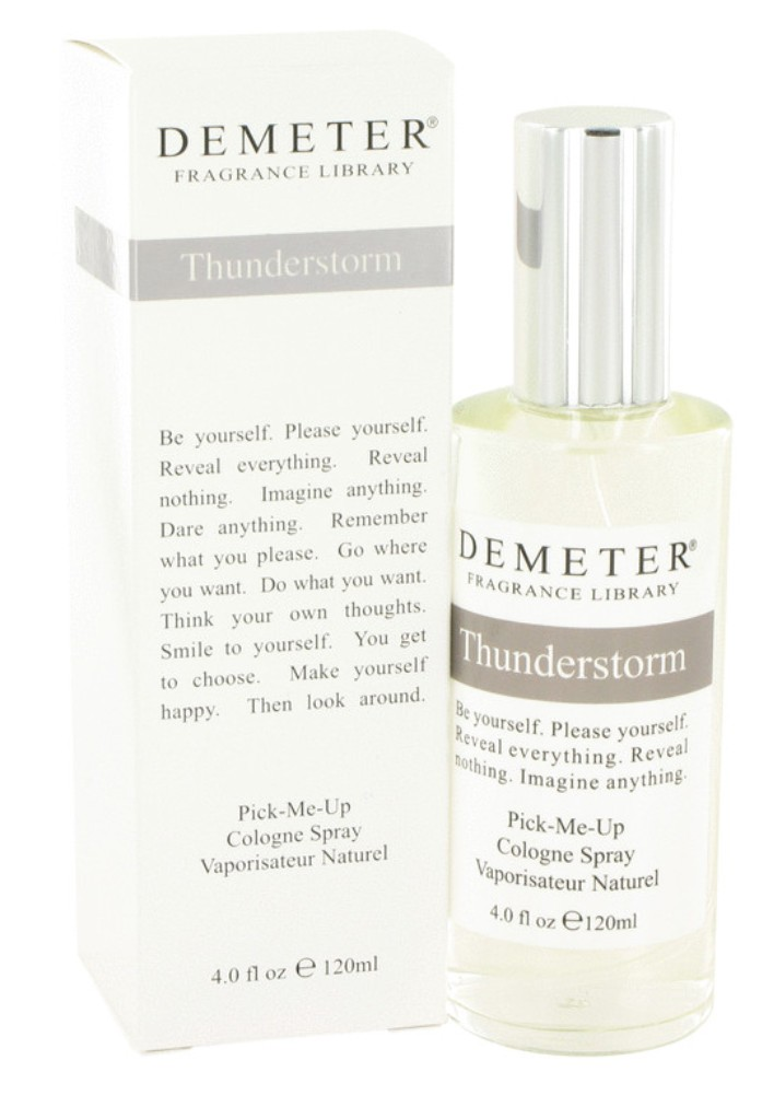 demeter fragrance library thunderstorm