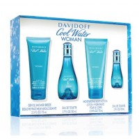 Cool Water Pour Femme - Davidoff Gift Box Set 50 ML