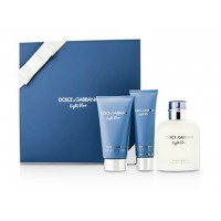 Light Blue Pour Homme - Dolce & Gabbana Gift Box Set 125 ML