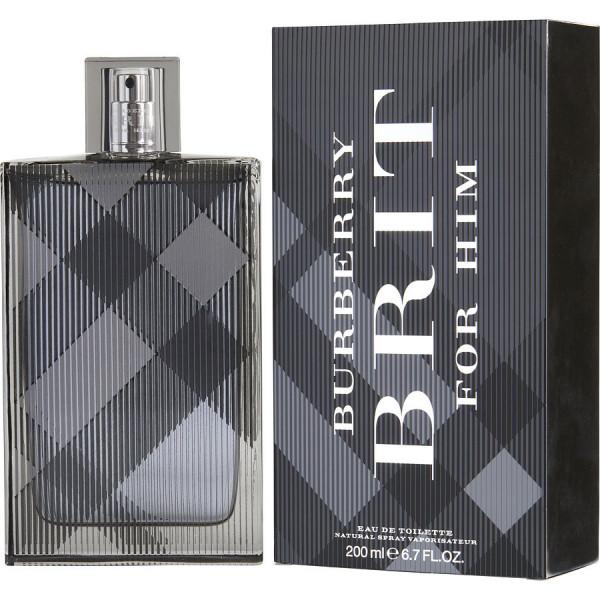 Burberry - Brit Pour Homme 200ML Eau de Toilette spray