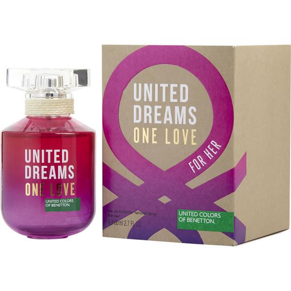 United Dreams One Love - Benetton Eau de toilette en espray 80 ml
