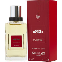 Habit Rouge de Guerlain Eau De Parfum Spray 50 ML