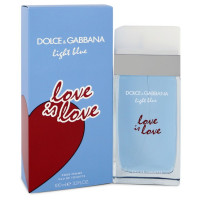 Light Blue Love Is Love de Dolce & Gabbana Eau De Toilette Spray 100 ML